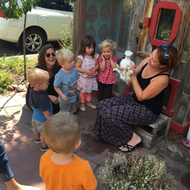 Local preschoolers check out Babette